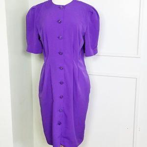 Vintage 80s/90s Button Down Dress